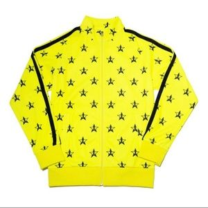 Brand New Jeffree Star Hot Yellow Track Jacket